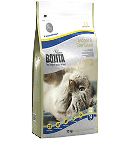 Kattfoder Bozita Indoor Sterilised 10 kg