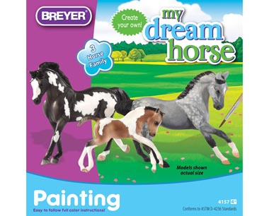 Horse Family Painting Kit stablemates 4157