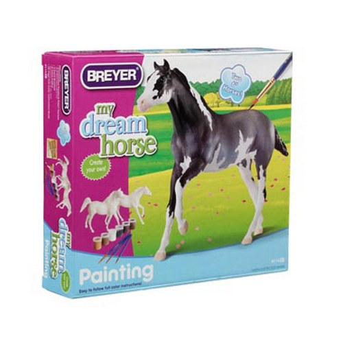 Paint your own horse, Arabian & Thoroughbred 4114