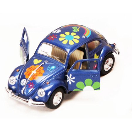 1:32, VW Beetle Flower-67 BLÅ