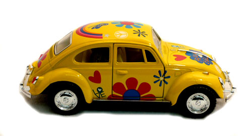 1:32, VW Beetle Flower-67 GUL