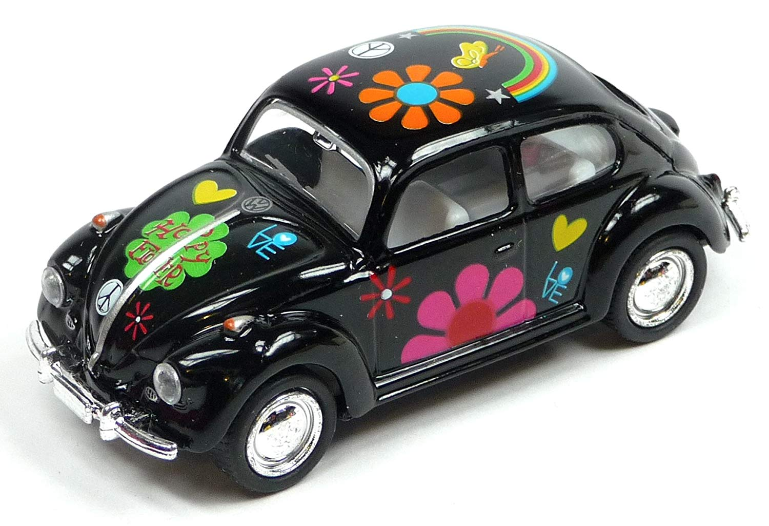 1:32, VW Beetle Flower-67 SVART